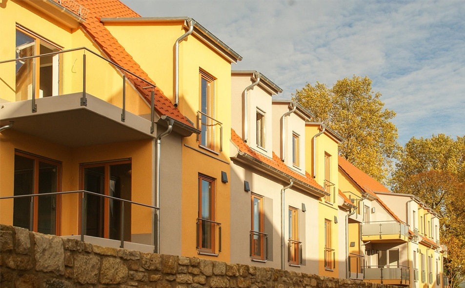 Mietwohnungen im Georgengarten in Naumburg